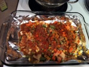 fav mexi baked tofu