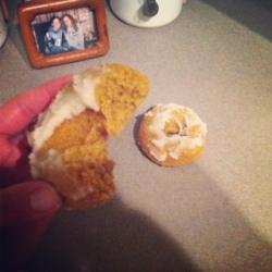 maple pumpkin doughnut