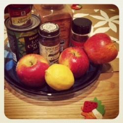 apple pie ice cream (vegan, gf)