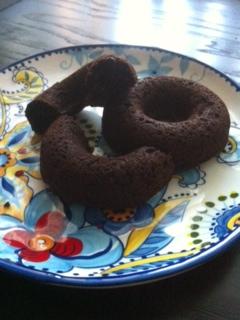 Chocolate Pumpkin Doughnuts (Gluten Free)