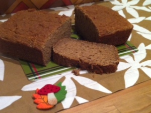 Honey Cider Bread loaf