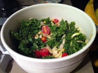 Miso Kale Salad (V, GF)