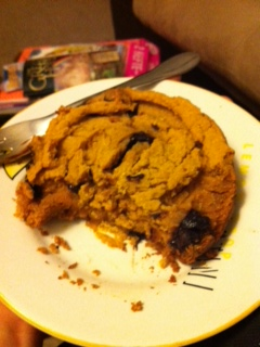 Pumpkin Chocolate Chip Cookie Cake