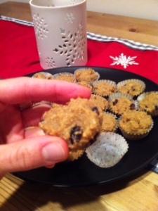Cranberry Orange Muffins (grain free, vegan)