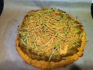 Pizza Crust (gf, V)