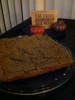 Pumpkin Blondies grain free
