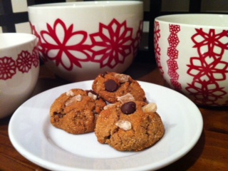 Chocolate and Ginger Chip Cookies