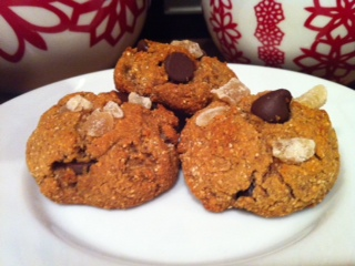 Chocolate & Ginger Chip Cookies