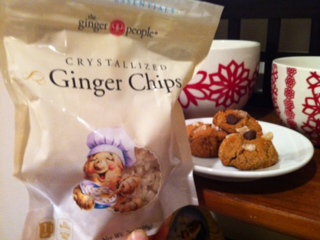 Crystalized Ginger Chips