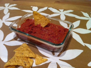 Sun Dried Tomato Spread vegan