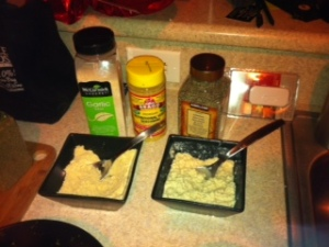Vegan Ricotta and Parmesan
