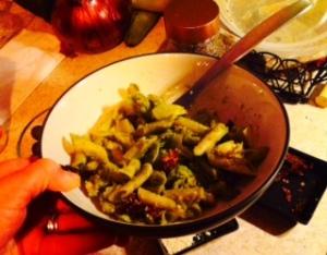 Citrus Pesto and Pasta