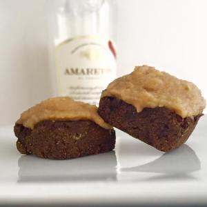 Amaretto Brownie Bites